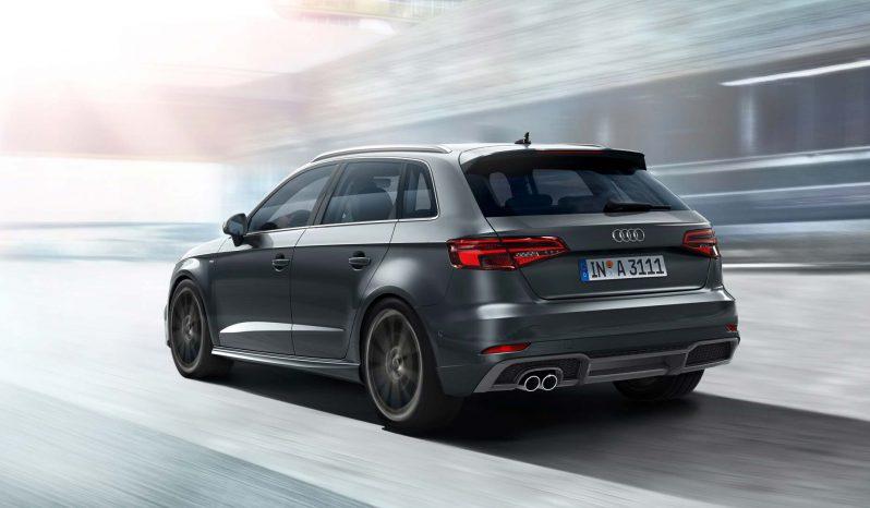 New Audi S3 Sportback full