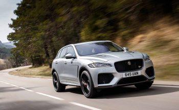 New Jaguar F Pace