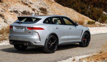 New Jaguar F Pace full
